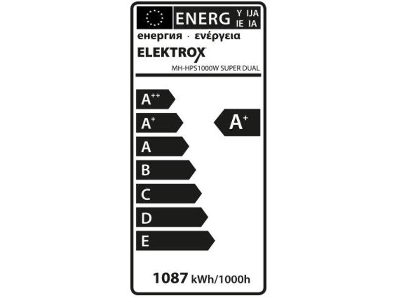 Elektrox Super Dual MH+HPS Lampe, 1000 W