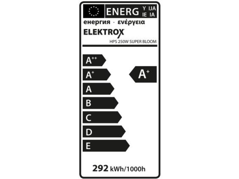 Elektrox Super Bloom HPS Lampe, 250 W