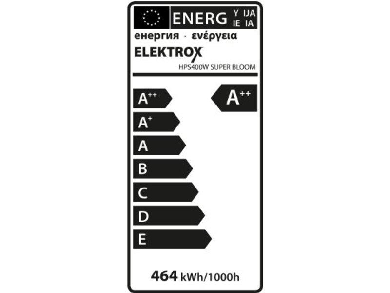 Elektrox Super Bloom HPS Lampe, 400 W