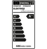 Elektrox Super Bloom HPS Lampe, 600 W
