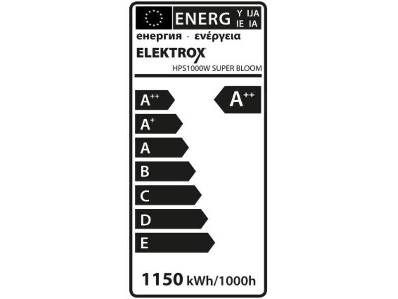Elektrox Super Bloom HPS Lampe, 1000 W