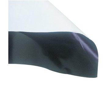 Groflective Folie, schwarz-weiß, lichtdicht, Rolle 10 m