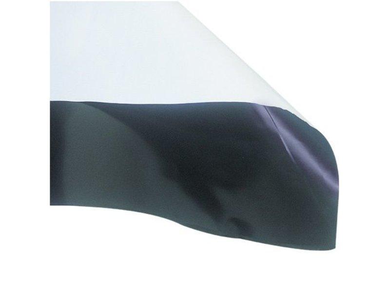 Groflective Folie, schwarz-weiß, lichtdicht, Rolle 10 m, 10 m x 2 m x 0,07 mm