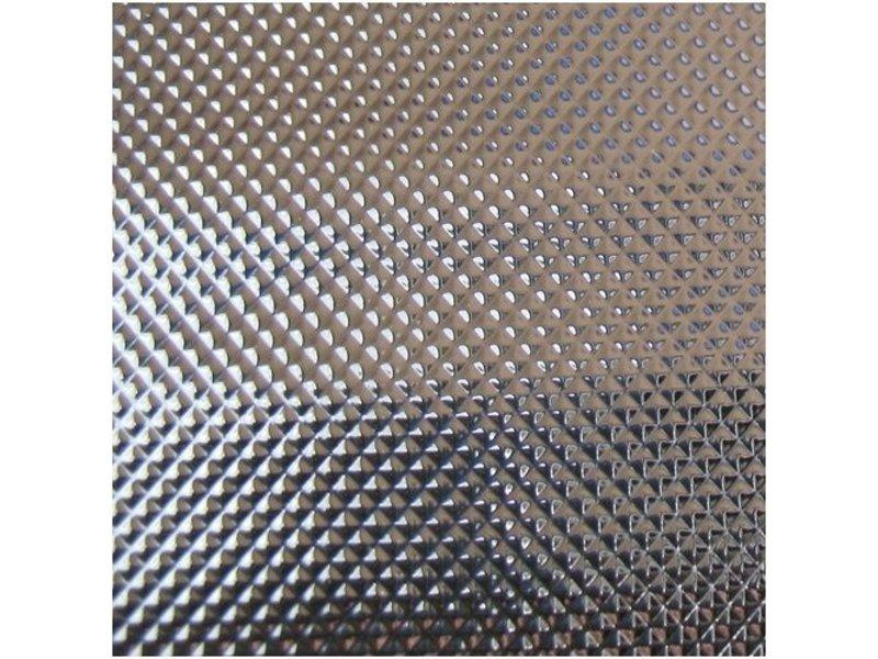 Groflective Reflexionsfolie, lichtdicht, Diamond, silber, Rolle 10 m x 1,22 m x 0,25 mm