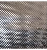 Groflective Reflexionsfolie, lichtdicht, Diamond, silber, Rolle 5 m x 1,22 x 0,25 mm