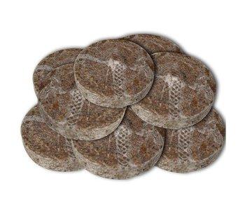 Kokos Quelltabletten ø 36 mm, ab 100 Stk.
