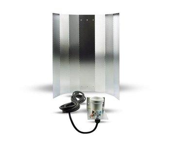 Mithralit-Reflektor mit IEC-Connector und