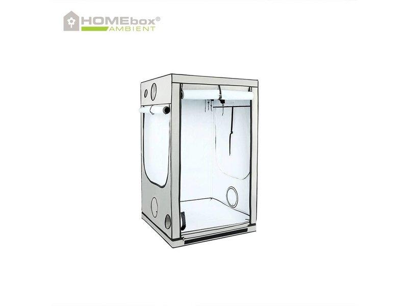 Homebox Ambient Q 120, aufgebaut 120 x 120 x 200 cm