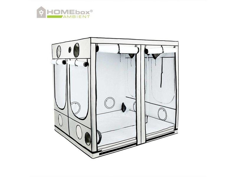 Homebox Ambient Q 200, aufgebaut 200 x 200 x 200 cm
