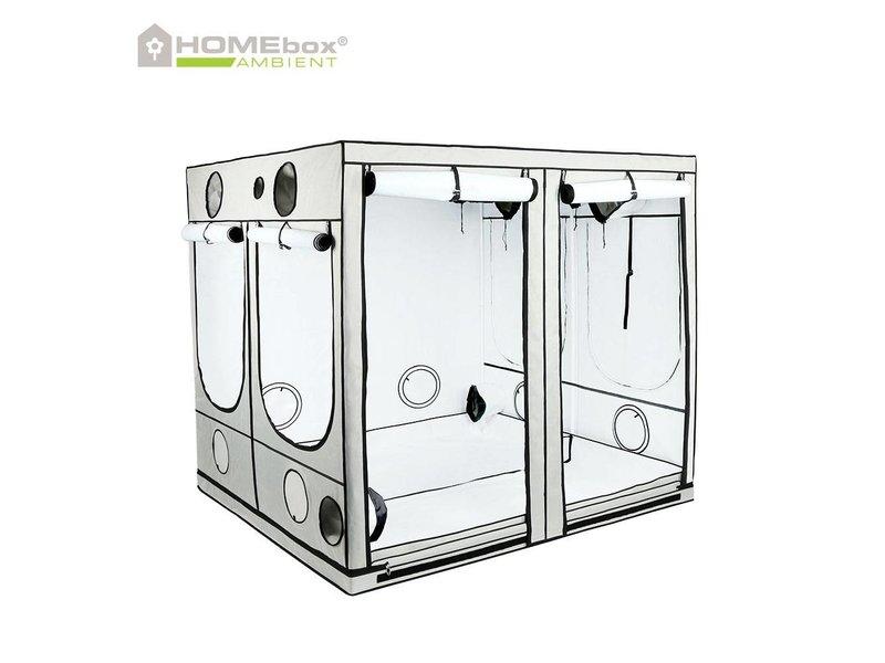 Homebox Ambient Q 240, aufgebaut 240 x 240 x 200 cm