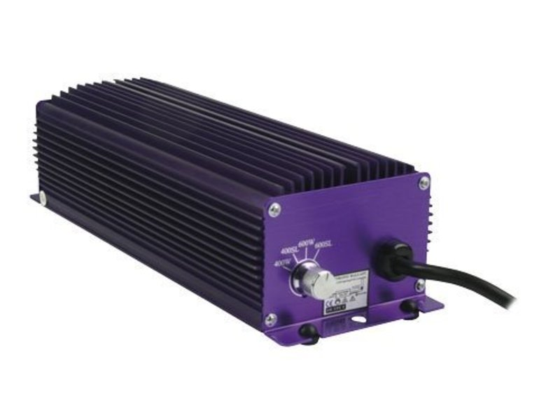 Lumatek 600 W, elektronisch, 4-Stufen regelbar, für HPS & MH Leuchtmittel