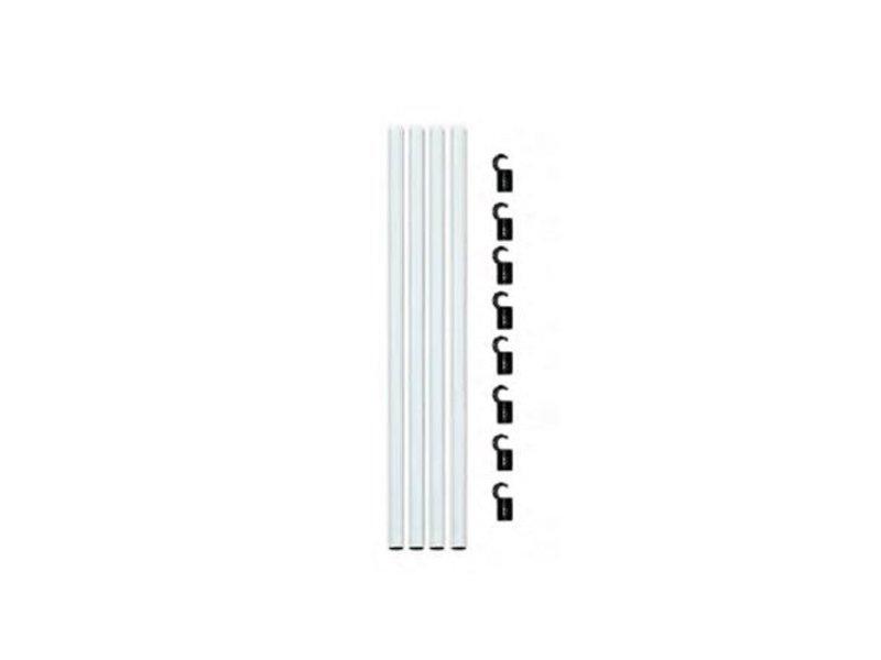 Homebox Fixture Poles, 150 cm, Stangen-Set für Homebox Evolution