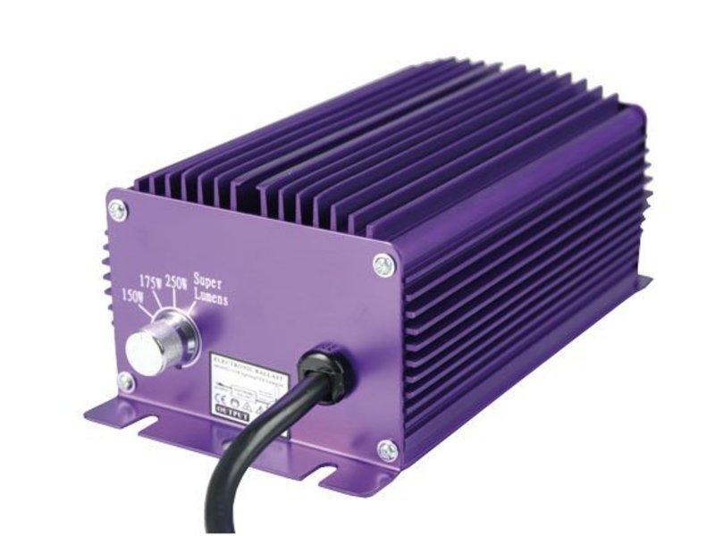 Lumatek 250 W, elektronisch, 4-Stufen regelbar, für HPS & MH Leuchtmittel