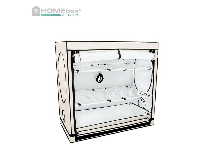 Homebox Vista Medium, aufgebaut 125 x 65 x 120 cm