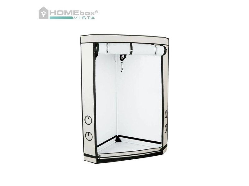 Homebox Vista Triangle, aufgebaut 85 x 120 x 160 cm