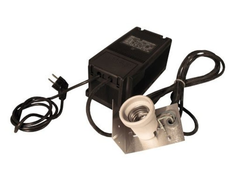 GIB Lighting SPP 400 W, verkabelt (Schuko), mit Fassung & Bügel