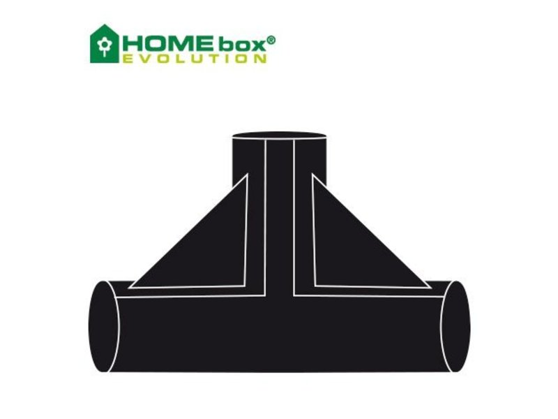 Homebox T-Stück für Evolution, 2 Stk.