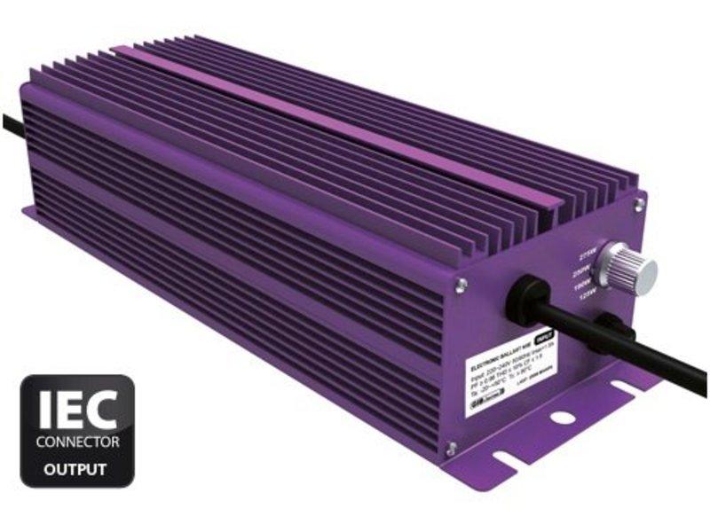 GIB Lighting NXE 250 W, 4-Stufen regelbar, mit IEC-Connector