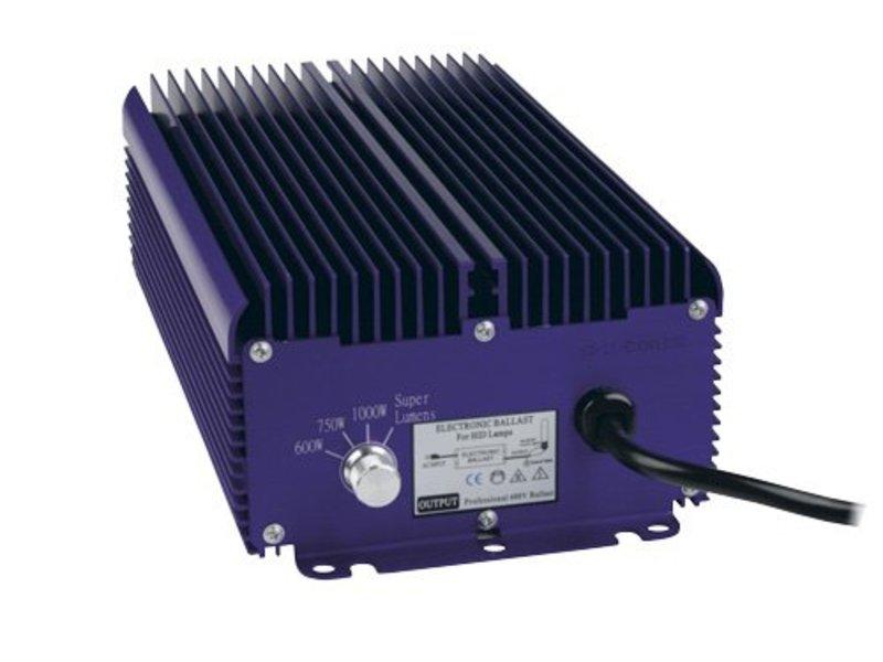 Lumatek 400 Volt, 1000 W, regelbar, für HPS u. MH Leuchtmittel