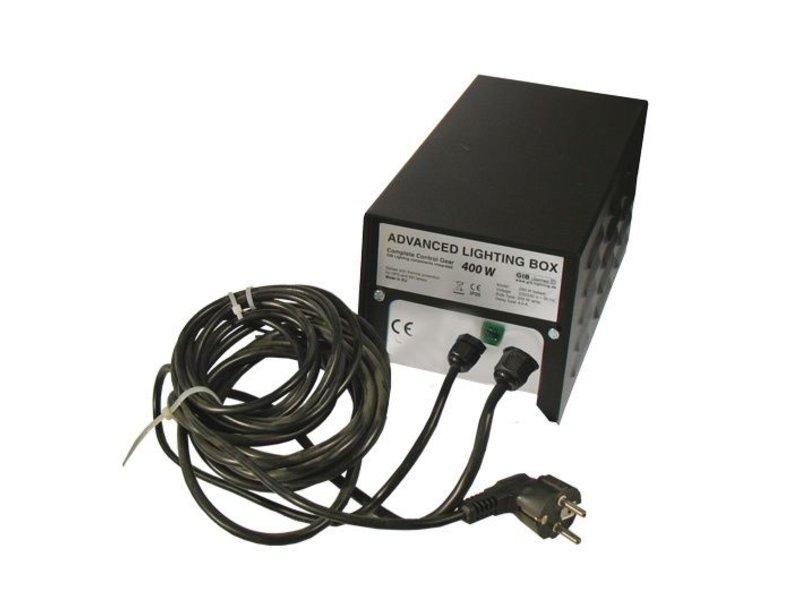 Advanced Lighting Box 400 W, mit Bügel und E40-Fassung, verkabelt