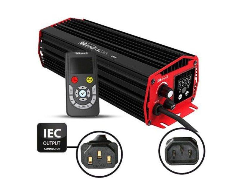 GIB Lighting LXG Timer 600W , mit IEC Connector & Fernbedienung