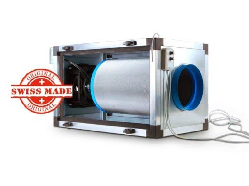Carbon Active EC InLine, 800 m³/h Double Filter Unit