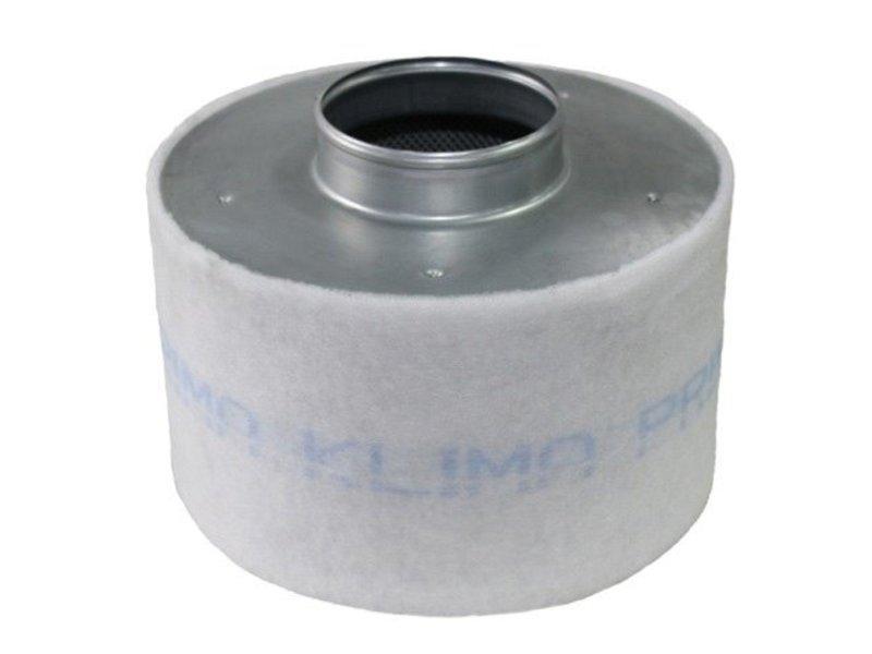 Aktivkohlefilter Economy Line für Lüfter 250 m³/h inkl. Anschlußflansch ø 100 mm
