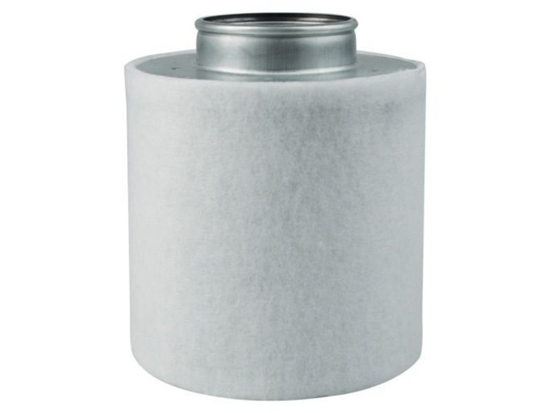 Aktivkohlefilter Economy Line für Lüfter 160 m³/h inkl. Anschlußflansch ø 100 mm