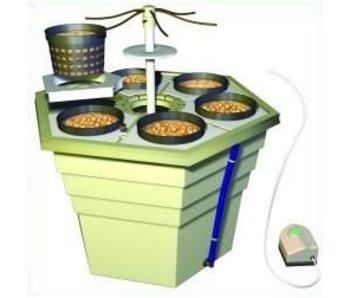 GHE EcoGrower, für 6 Pflanzen