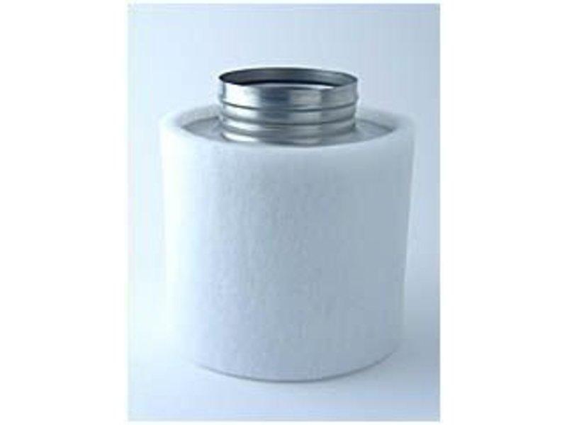 Aktivkohlefilter Professional Line für Lüfter bis 180 m³/h inkl. Anschlußflansch ø 100 mm