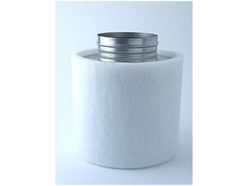 Aktivkohlefilter Professional Line für Lüfter bis 240 m³/h inkl. Anschlußflansch ø 125 mm