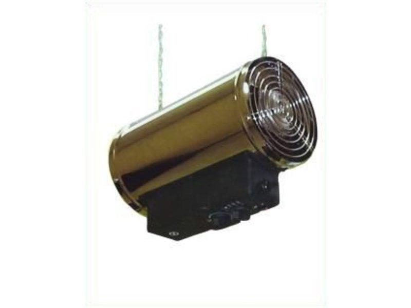 Elektrischer Heizlüfter Phoenix - 3 Stufen - Thermostat, Boden- & Hängemontage