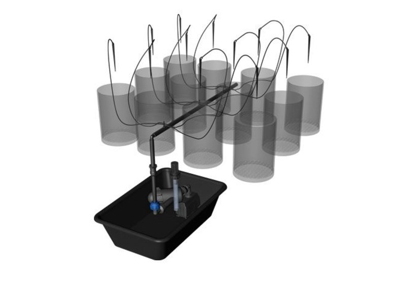 growSYSTEM Air-Pot 1.0 Erweiterungsset inkl. 12 x Air-Pot, 3 L