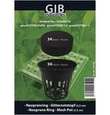 GiB Gitternetztopf-Set für GrowSystems