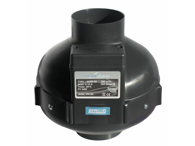 PK Rohrventilator 100, 280 m³/h, für 100 mm Rohr Kunststoff unverkabelt