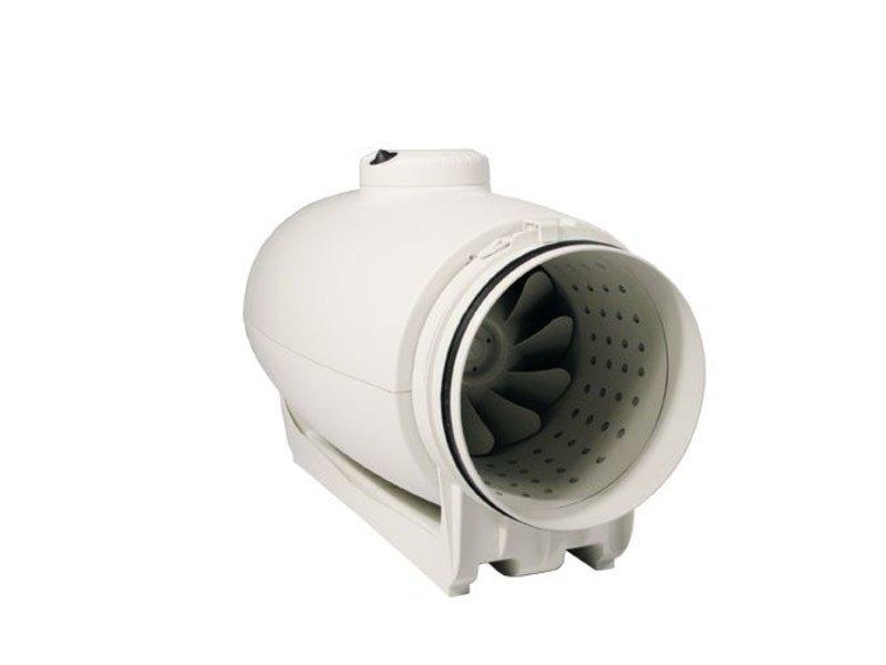S&P TD-1000/200 Silent, schallgedämmter Rohrventilator, halbradial, 1100/800 m³/h