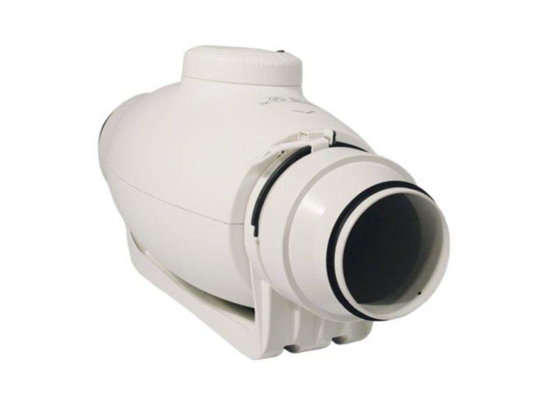 S&P TD-250/100 Silent, schallgedämmter Rohrventilator, halbradial, 240/180 m³/h