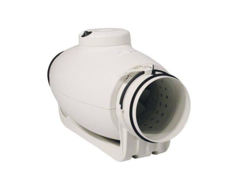 S&P TD-350/125 Silent, schallgedämmter Rohrventilator, halbradial, 380/280 m³/h