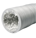 Ventilution Combi-Flexrohr Alu/PVC, ø 127 mm, 10 m, grau