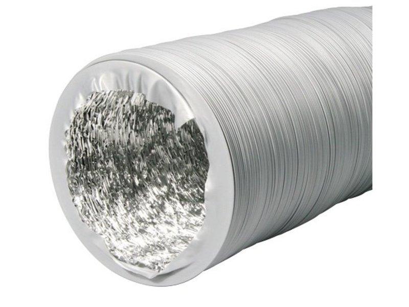 Ventilution Combi-Flexrohr Alu/PVC, ø 152 mm, 10 m, grau