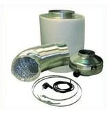 Ventilution Lüftungsset 1200 Eco inkl. In-Line Ventilator, 935 m³/h und Zubehör