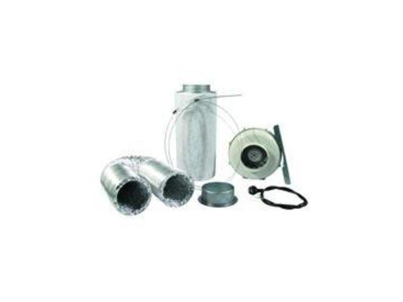 PK Lüftungsset 250 inkl. PK Rohrventilator 125AL, 230/360 m³/h und Zubehör