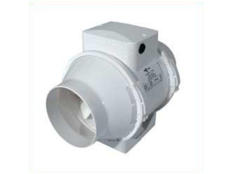Ventilution Mixed In-Line 145/187 m³/h, für 100 mm Rohr, Kunststoff