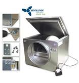 Ventilution Silent Line Box 400, V-400 schallgedämmt, 3500 m³/h, 513 x 660 x 600 mm, ø 400 mm