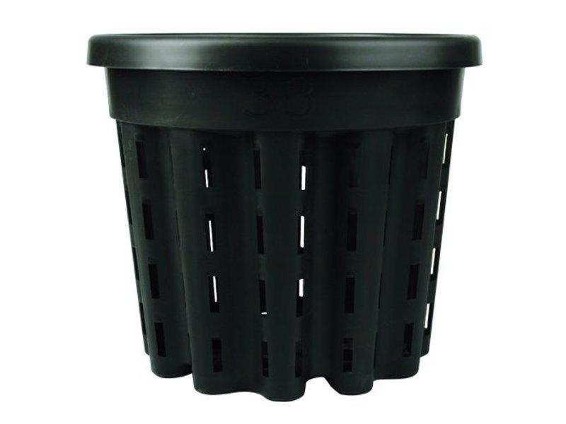 Venti-Pot, rund, 20 L, schwarz, ø 33 cm, H= 29 cm