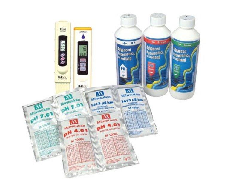 pH- und EC-Set HM, zur Messung/Reguliereung von pH-/EC-Wert in der Nährstofflösung