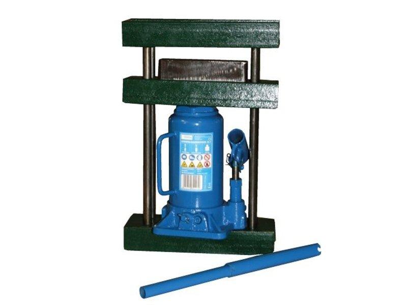 12-Tonnen-Presse, mit Rahmen, Pressform und 12-Tonnen-Hydraulikheber