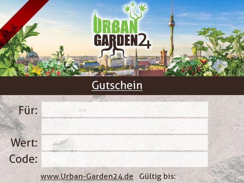 Urban-Garden24 Gutschein