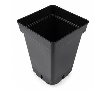 GiB Topf, viereckig, 7 L, schwarz