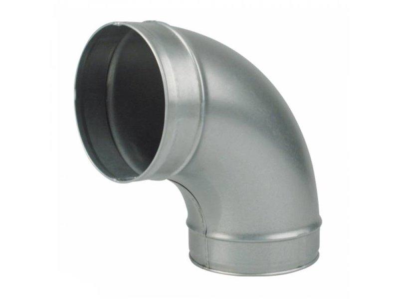 Ventilution Bogenstück Winkel 90° von 100 - 450 mm Anschluß